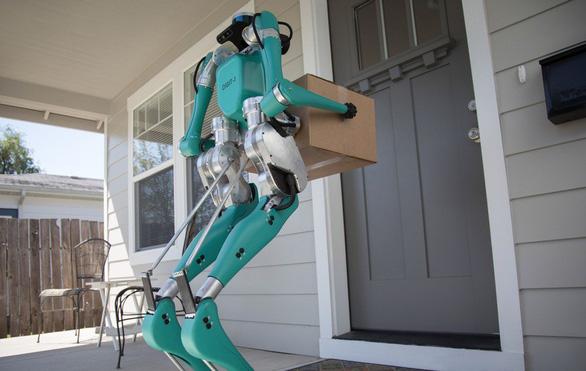 Khó tin: robot đi giao hàng hệt như người - Ảnh 3.