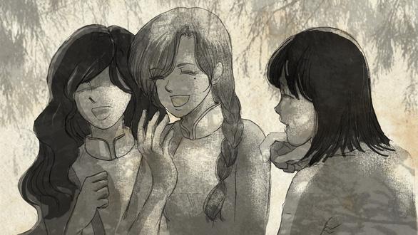 Con gái Tạ Minh Tâm vẽ hoạt họa MV Mùa hạ cuối cùng cho Đức Tuấn - Ảnh 3.