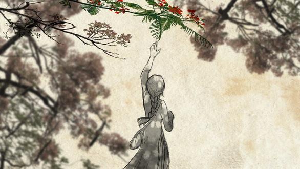 Con gái Tạ Minh Tâm vẽ hoạt họa MV Mùa hạ cuối cùng cho Đức Tuấn - Ảnh 1.
