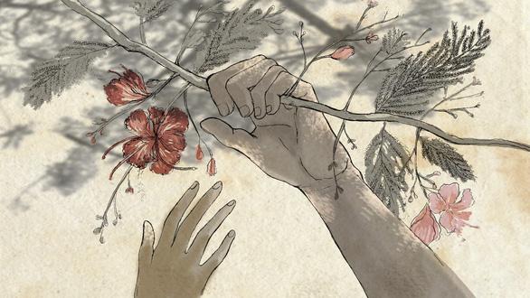 Con gái Tạ Minh Tâm vẽ hoạt họa MV Mùa hạ cuối cùng cho Đức Tuấn - Ảnh 6.