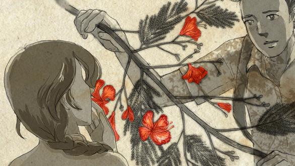 Con gái Tạ Minh Tâm vẽ hoạt họa MV Mùa hạ cuối cùng cho Đức Tuấn - Ảnh 7.