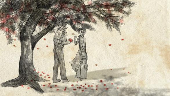Con gái Tạ Minh Tâm vẽ hoạt họa MV Mùa hạ cuối cùng cho Đức Tuấn - Ảnh 8.