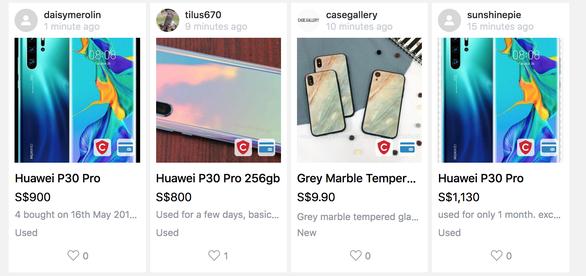 Điện thoại Huawei bị bán tháo, nhiều cửa hàng Singapore, Philippines từ chối mua lại - Ảnh 1.