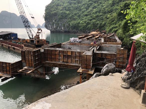 Dừng công trình trên vịnh Hạ Long, chờ đánh giá tác động môi trường - Ảnh 2.