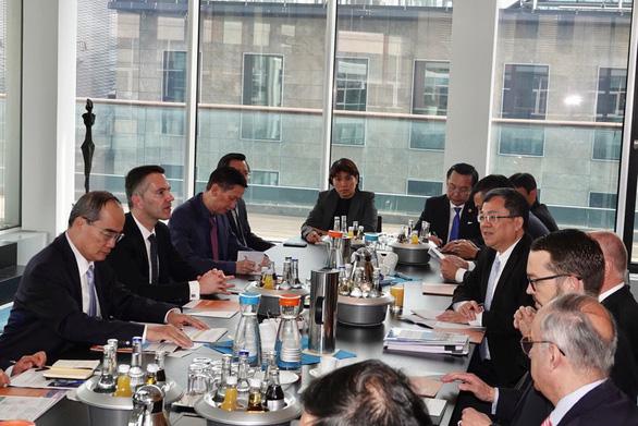 Frankfurt sẵn sàng hỗ trợ TP.HCM xây dựng trung tâm tài chính - Ảnh 1.
