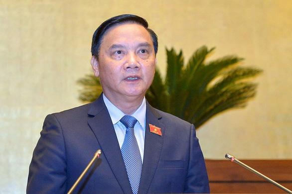Chủ nhiệm Ủy ban Pháp luật Nguyễn Khắc Định sẽ làm bí thư Khánh Hòa - Ảnh 1.