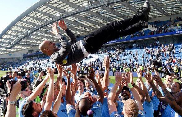 HLV Guardiola sang Juventus là tin đồn nực cười - Ảnh 1.