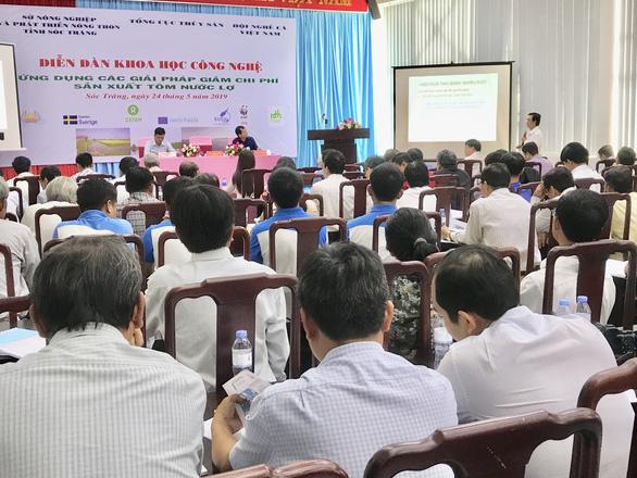 Tôm Việt giá cao lại xài nhiều thuốc, bơm tạp chất - Ảnh 1.