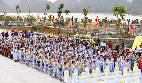 Pháp phục Nguyên Dung được đông đảo Phật tử toàn quốc đón nhận - Ảnh 5.