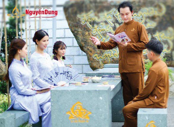 Pháp phục Nguyên Dung được đông đảo Phật tử toàn quốc đón nhận - Ảnh 7.