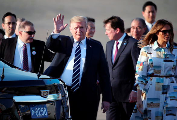 Ông Trump đến Nhật bàn về thương mại, Triều Tiên - Ảnh 2.
