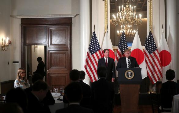 Ông Trump đến Nhật bàn về thương mại, Triều Tiên - Ảnh 4.