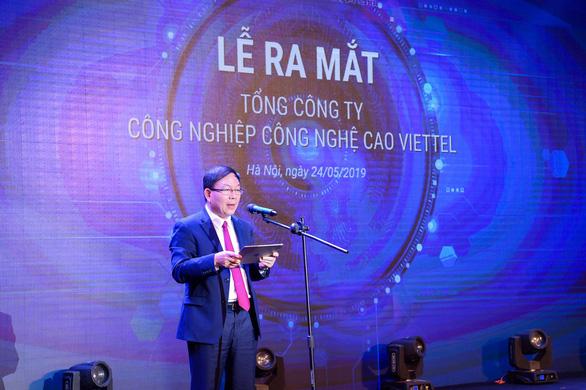 Quyết đi đầu trong Make in Vietnam, Viettel lập Tổng công ty mới - Ảnh 1.