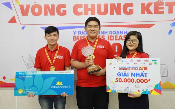 Ứng dụng tìm máu cứu người của sinh viên Huế giành giải nhất Ý tưởng kinh doanh 2019 - Ảnh 1.