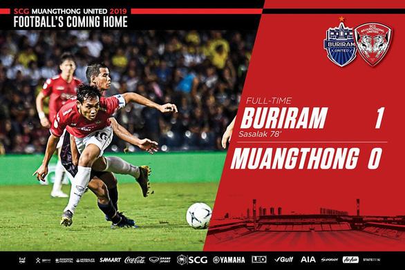 Muangthong thua Buriram trong ngày Văn Lâm gặp Xuân Trường - Ảnh 1.