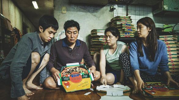 Parasite đánh dấu sự kiện lần đầu tiên điện ảnh Hàn Quốc sở hữu Cành cọ vàng - Ảnh: Cannes