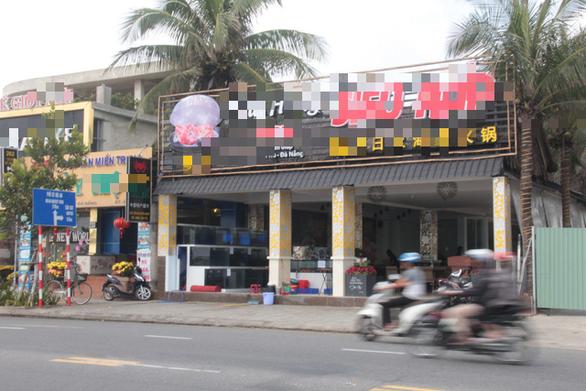 17 nhà hàng, quán ăn ven biển Đà Nẵng tồn tại nhiều năm không phép - Ảnh 2.