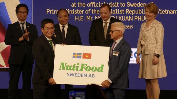 Nhà máy sữa Nutifood Sweden AB tại Thụy Điển chính thức hoạt động - Ảnh 1.