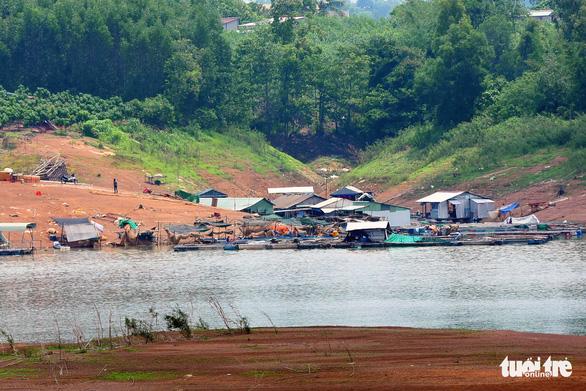 450 triệu đồng quy hoạch lại vùng nuôi cá bè trên hồ Trị An - Ảnh 1.