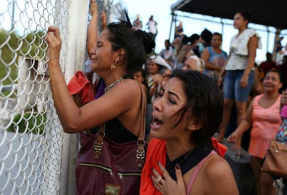 42 tù nhân bị siết cổ chết tại Brazil - Ảnh 1.