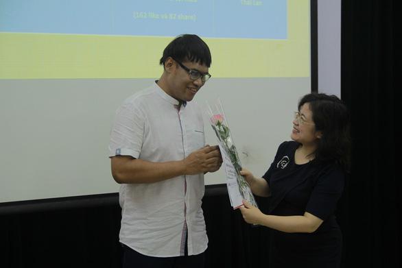 Nam sinh khiếm thị Thái đoạt giải nhất viết về Việt Nam - Ảnh 1.