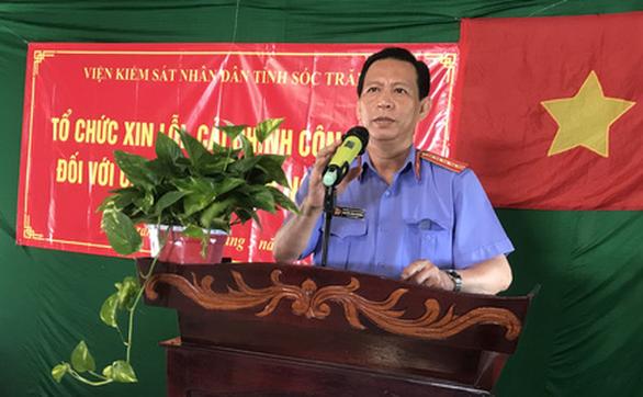 Viện KSND tỉnh Sóc Trăng xin lỗi nữ chủ nhiệm hợp tác xã bị truy tố sai - Ảnh 1.