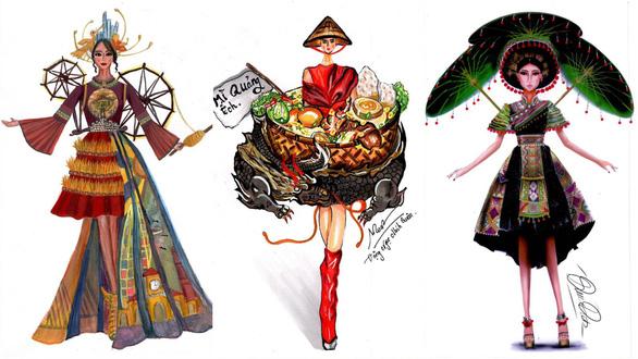 Thiết kế Bàn thờ cho quốc phục của Việt Nam tại Miss Universe 2019? - Ảnh 3.