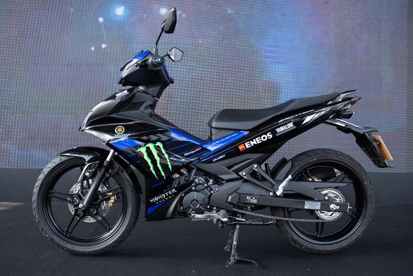 Exciter 150 phiên bản Monster Energy MotoGP: tăng tốc siêu tốc - Ảnh 1.