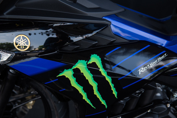 Exciter 150 phiên bản Monster Energy MotoGP: tăng tốc siêu tốc - Ảnh 3.