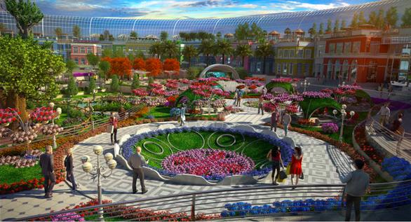 Thâm nhập siêu trung tâm mua sắm biết sống và thở ở Dubai - Ảnh 2.