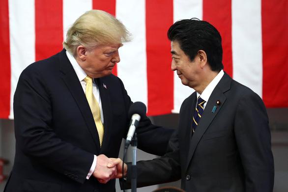 Ông Trump mong quân đội Nhật mạnh lên, sát cánh quân Mỹ tại châu Á - Ảnh 1.