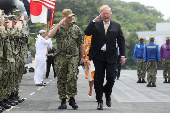 Ông Trump mong quân đội Nhật mạnh lên, sát cánh quân Mỹ tại châu Á - Ảnh 2.
