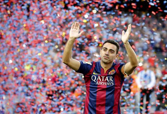 Cựu danh thủ Xavi bắt đầu sự nghiệp huấn luyện - Ảnh 1.
