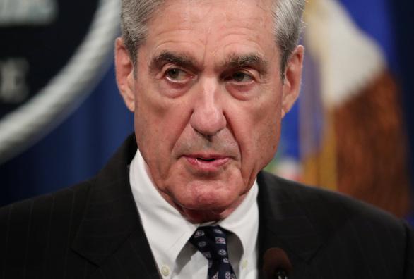Công tố viên đặc biệt Robert Mueller từ chức - Ảnh 1.