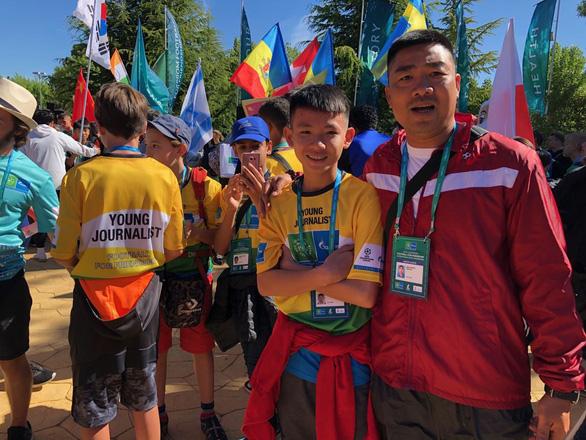 Cờ Việt Nam tung bay ở World Cup trẻ em 2019 - Ảnh 5.