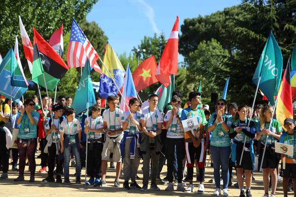 Cờ Việt Nam tung bay ở World Cup trẻ em 2019 - Ảnh 1.