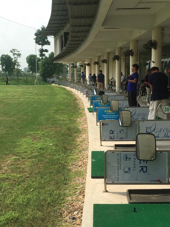 Sân tập Golf Thanh Hà Mường Thanh: hiện đại và tiêu chuẩn - Ảnh 1.