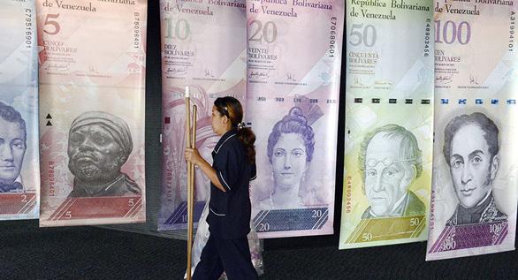 Venezuela công bố mức lạm phát: chỉ bằng 1/10 của IMF - Ảnh 1.