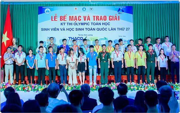 Sinh viên Duy Tân giành nhiều giải tại Olympic sinh viên toàn quốc 2019 - Ảnh 2.