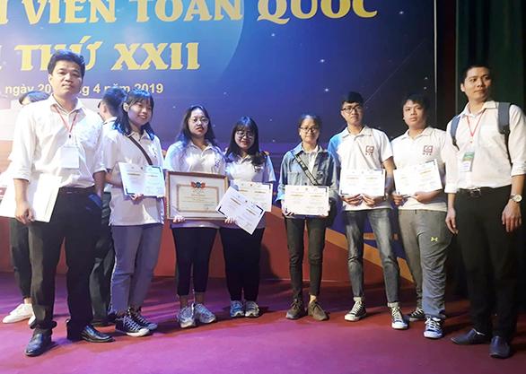 Sinh viên Duy Tân giành nhiều giải tại Olympic sinh viên toàn quốc 2019 - Ảnh 1.