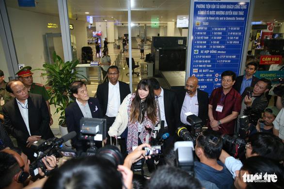 Đoàn Thị Hương đã trở về Việt Nam - Ảnh 2.