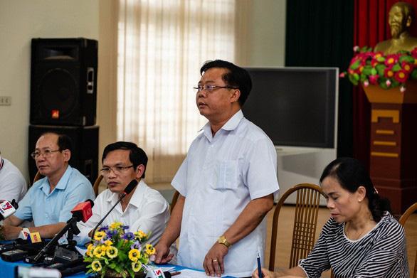 Đề xuất thay trưởng ban chỉ đạo thi THPT quốc gia tỉnh Sơn La - Ảnh 1.