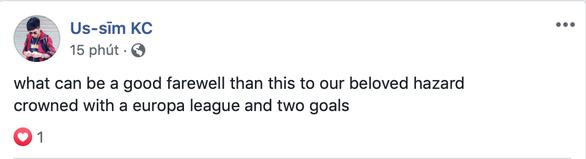 CĐV Chelsea nói lời cám ơn và chia tay Hazard - Ảnh 6.