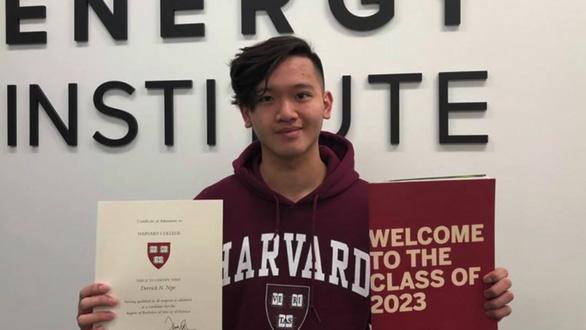 Ngưỡng mộ học sinh gốc Việt vô gia cư được nhận vào Harvard - Ảnh 1.
