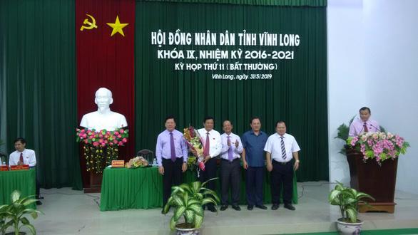 Ông Bùi Văn Nghiêm làm chủ tịch Hội đồng nhân dân tỉnh Vĩnh Long - Ảnh 1.