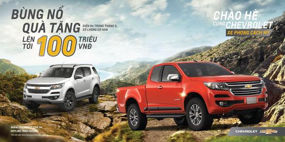 Chevrolet Trailblazer và Colorado, bộ đôi đậm chất Mỹ - Ảnh 1.