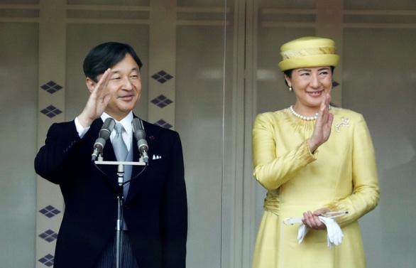 Tân Nhật hoàng Naruhito lần đầu phát biểu trước công chúng - Ảnh 1.
