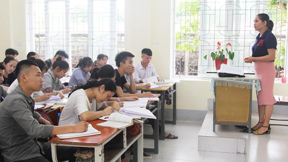 Cả lớp 38 em chỉ có 1 học sinh xét tuyển đại học - Ảnh 1.