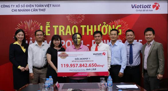 Khách hàng trúng Jackpot 1 của Vietlott đóng góp hơn 11 tỷ đồng cho ngân sách tỉnh Cà Mau - Ảnh 2.