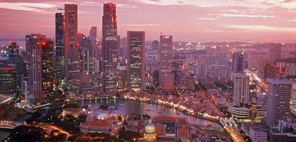 Bế tắc cát, Singapore đeo đuổi xây đô thị nổi trên biển - Ảnh 1.
